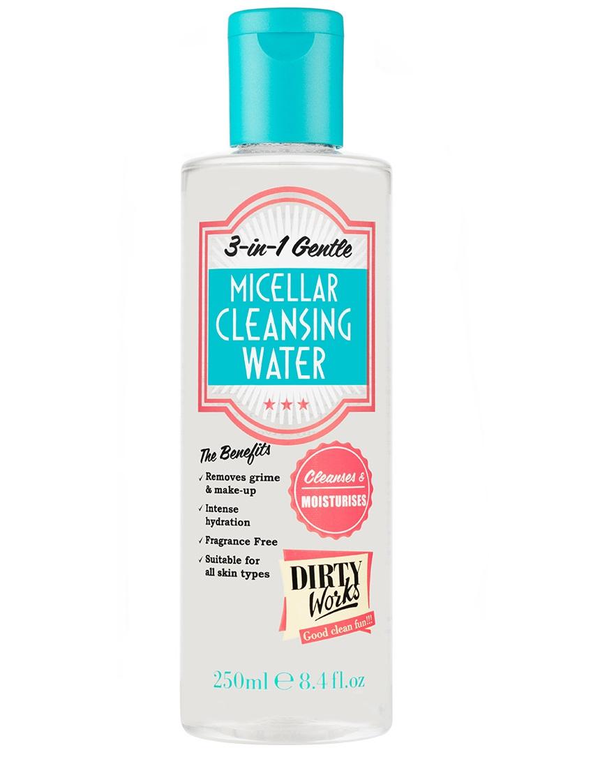 Dirty Works (Sainsbury's) 3 In 1 Gentle Micellar Cleansing Water