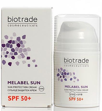 biotrade cosmeticals Melabel Sunsun Protection Cream SPF 50+