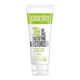 Avon Clearskin Mattifying Moisturiser with Shine Control SPF15