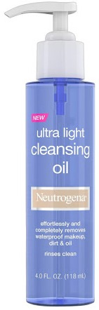 Neutrogena Ultra Light Face Cleansing Oil & Makeup Remover