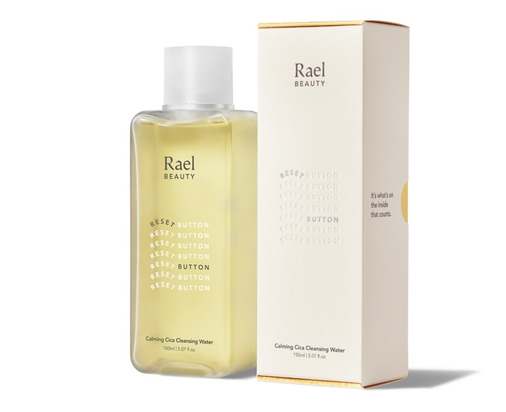 Rael Reset Button Calming Cica Cleansing Water