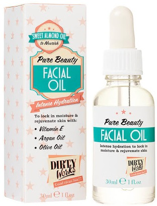 Dirty works Pure Beauty Facial Oil