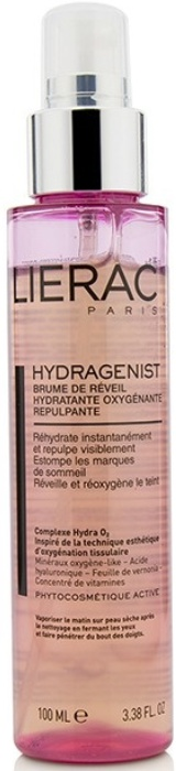Lierac Paris Hydragenist Moisturizing Oxygenating Replumping Morning Mist