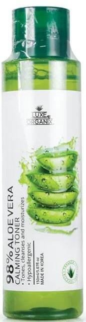 Luxe Organix 98% Aloe Vera Calming Toner