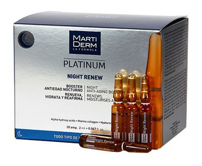 Marti Derm Night Renew Ampollas