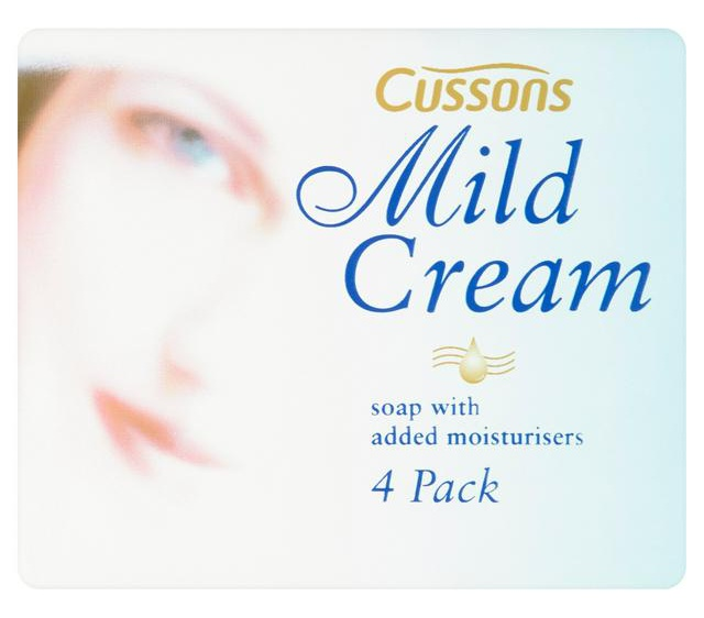 Cussons Mild Cream Soap With Added Moisturisers