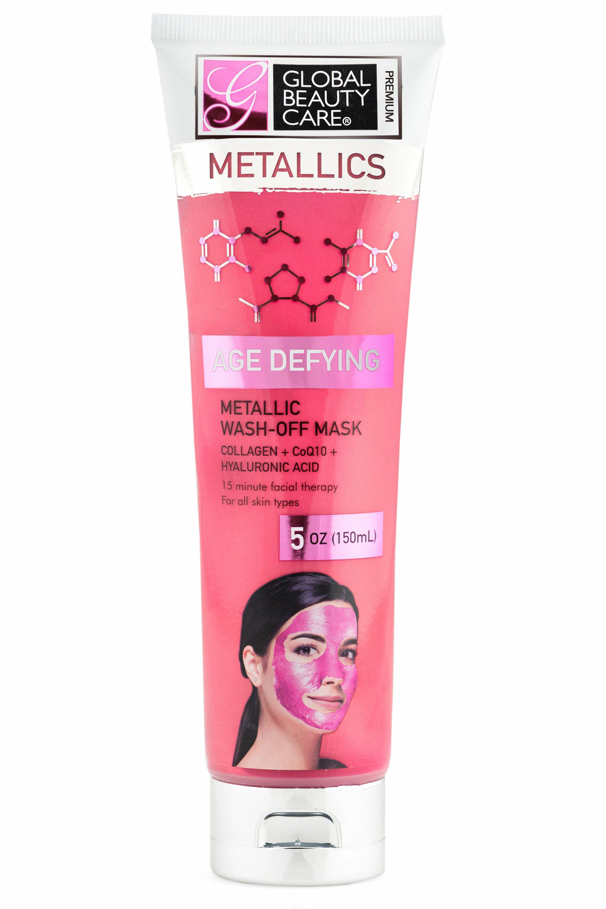 Global Beauty Care Premium Metallic Wash Off Mask