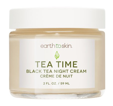 Earth To Skin Tea Time Anti Aging Night Cream