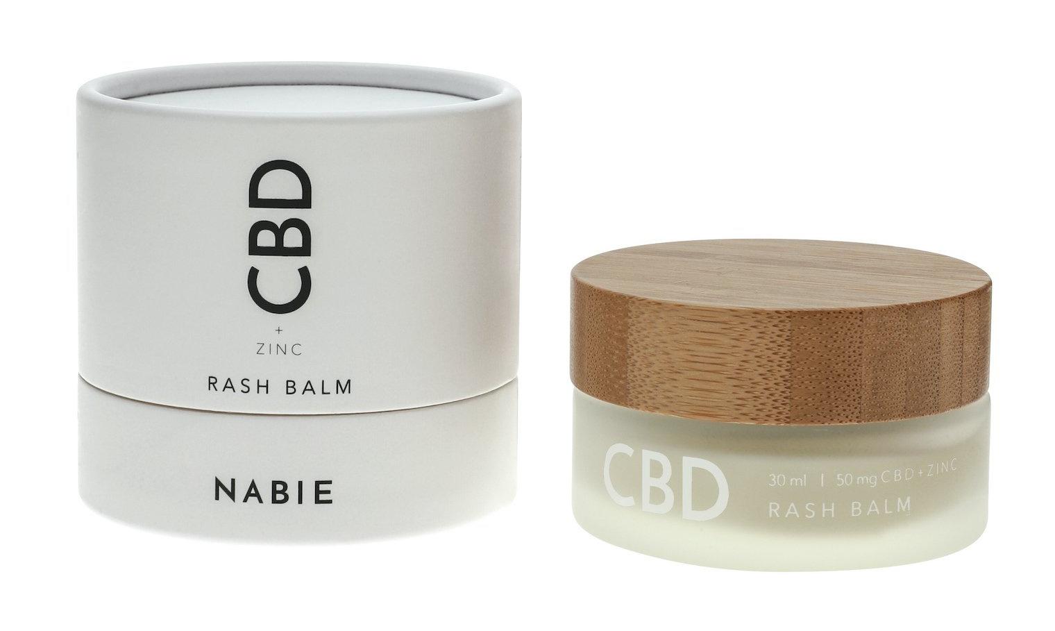 Nabie Cbd Rash Balm + Zinc