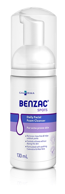 BENZAC Daily Facial Foam Cleanser