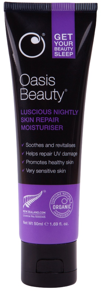 Oasis Beauty Beauty Sleep Luscious Nightly Skin Repair Cream