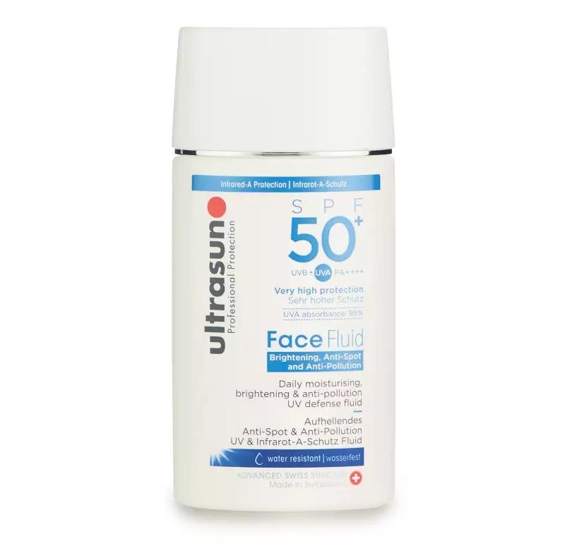 Ultrasun Face Brightening Anti-Spot & Anti-Pollution Fluid Spf 50+