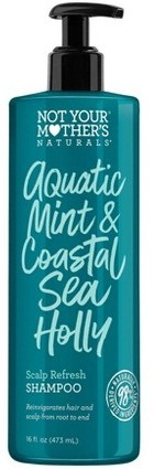 not your mother's Aquatic Mint Blue Sea Holly Shampoo