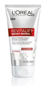 L'Oreal Revitalist Bright Reveal Brightening Scrub Cleanser