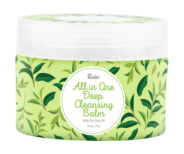 Fanbo All In One Deep Cleansing Balm With Tea Tree Oil