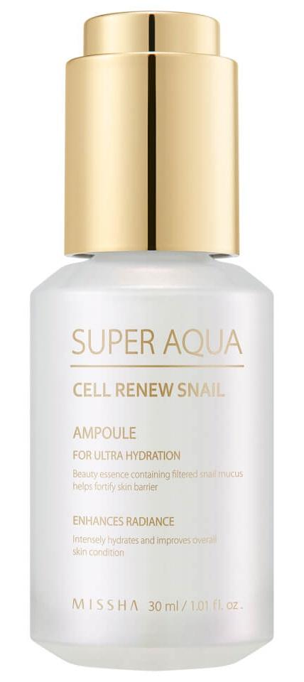 Missha Super Aqua Cell Renew Snail Ampoule