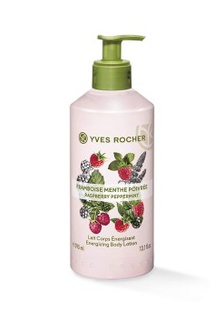 Yves Rocher Energizing Body Lotion Raspberry Peppermint