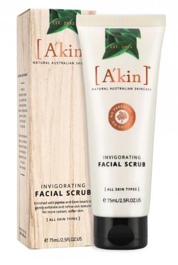 A'KIN Invigorating Facial Scrub