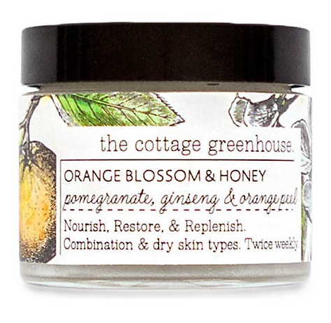 the cottage greenhouse Orange Blossom And Honey Mask