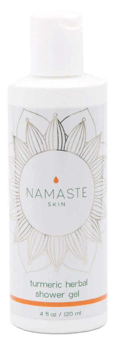 Cal PHARMA Namaste Skin Turmeric Herbal Shower Gel With Antioxidant Grapefruit Essential Oils