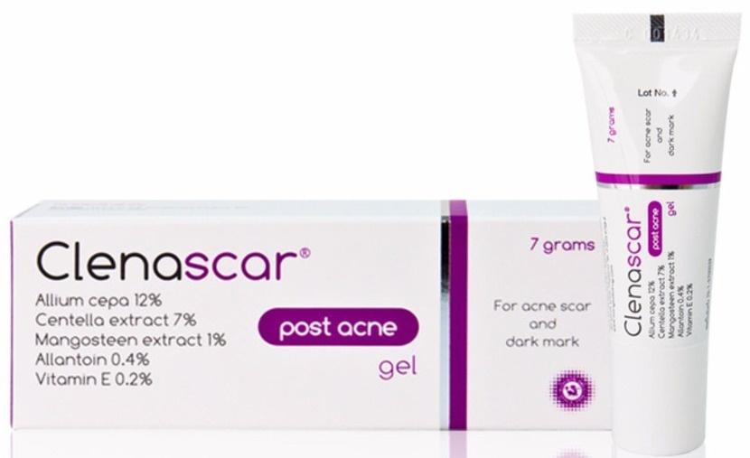 Clenascar Post Acne Gel For Acne And Dark Mark