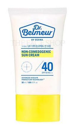 The Face Shop Dr. Belmeur Uv Derma Non-Comedogenic Sun Cream