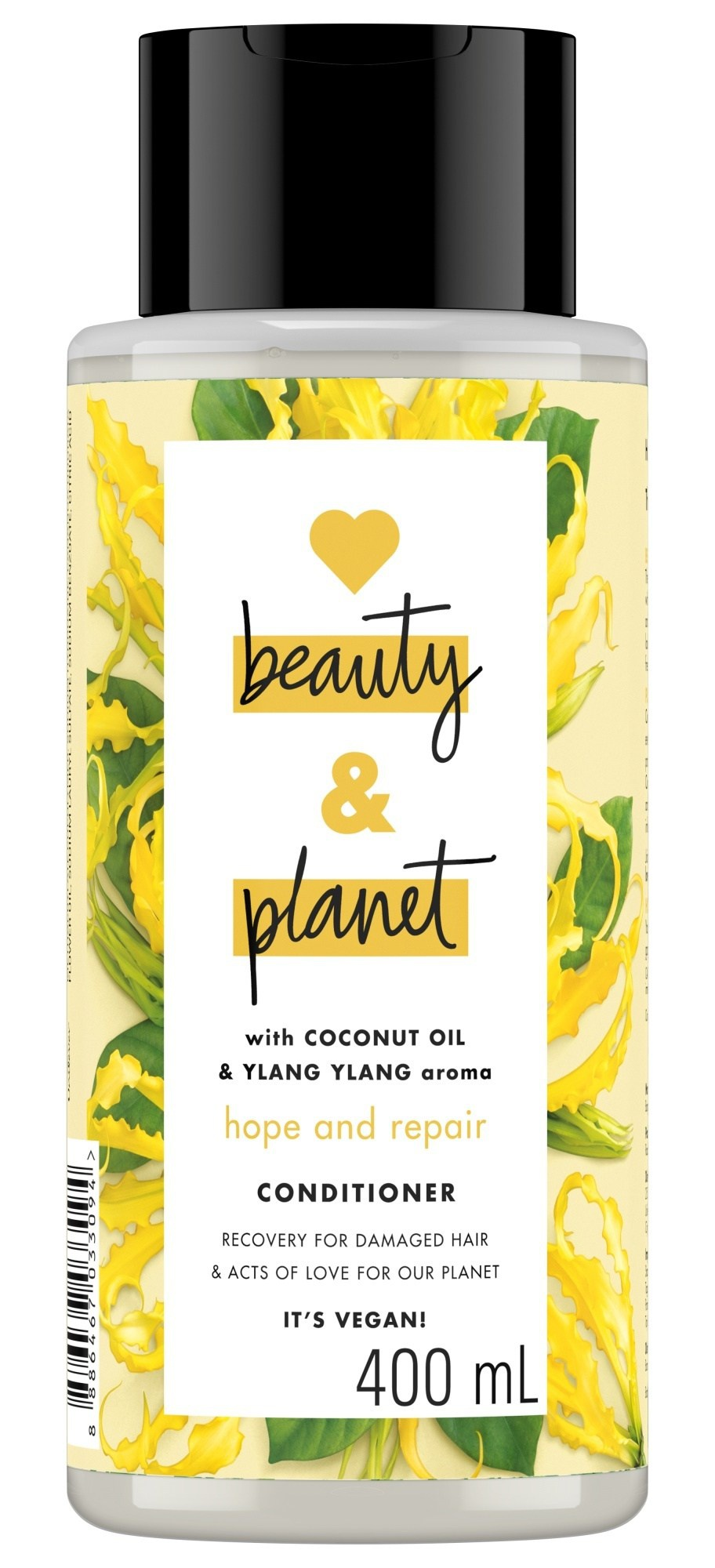 Love beauty and planet Coconut Oil And Ylang Ylang Aroma Conditioner