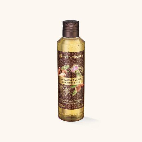 Yves Rocher Argan Rose Hammam Shower Oil