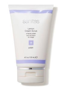 Sanitas Lemon Cream Scrub