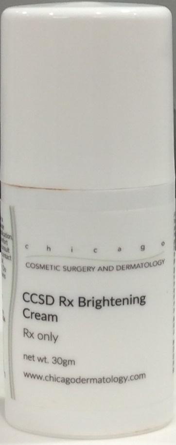 CCSD Rx Brightening Cream