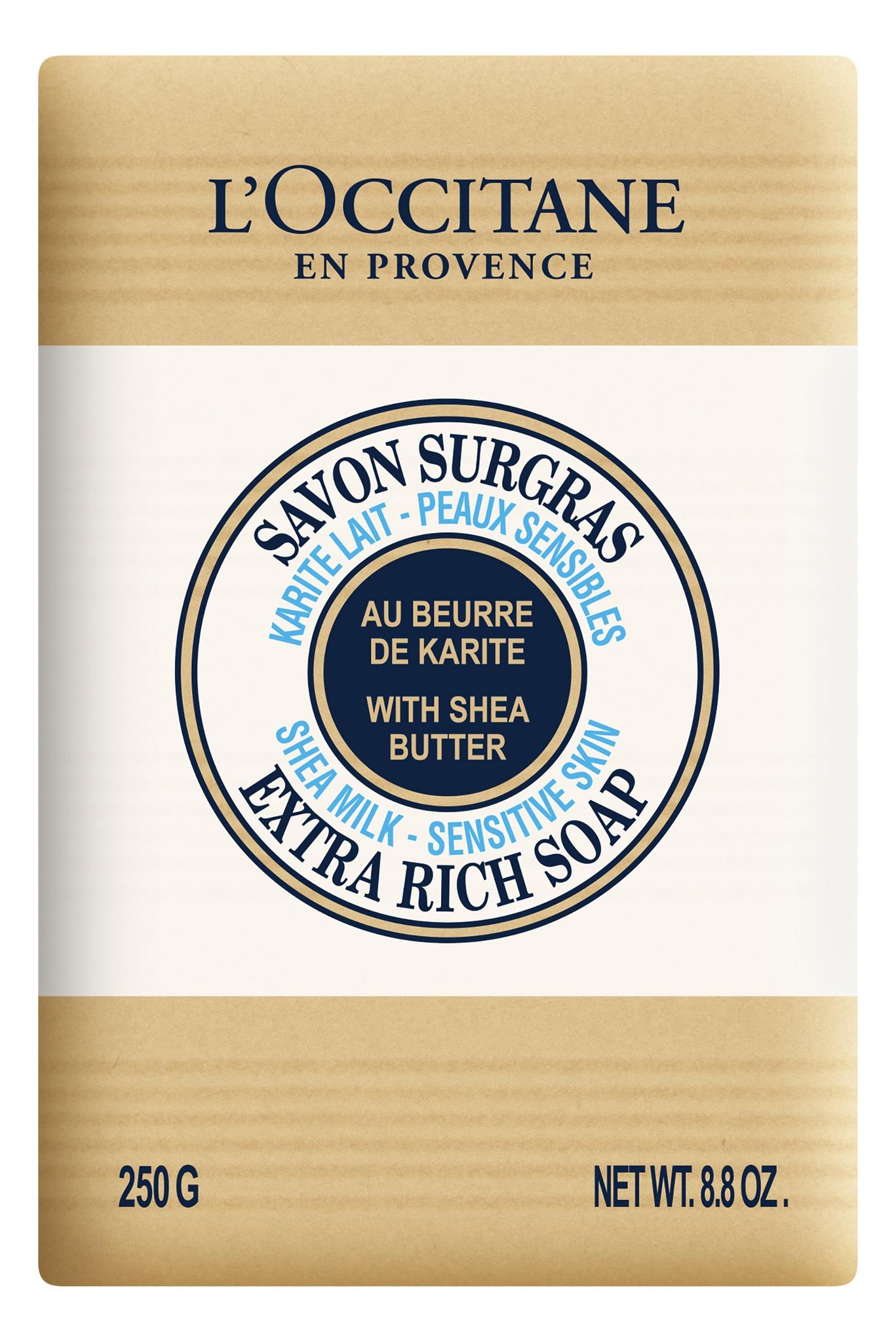 L´Occitane Shea Milk Sensitive Skin Extra Rich Soap