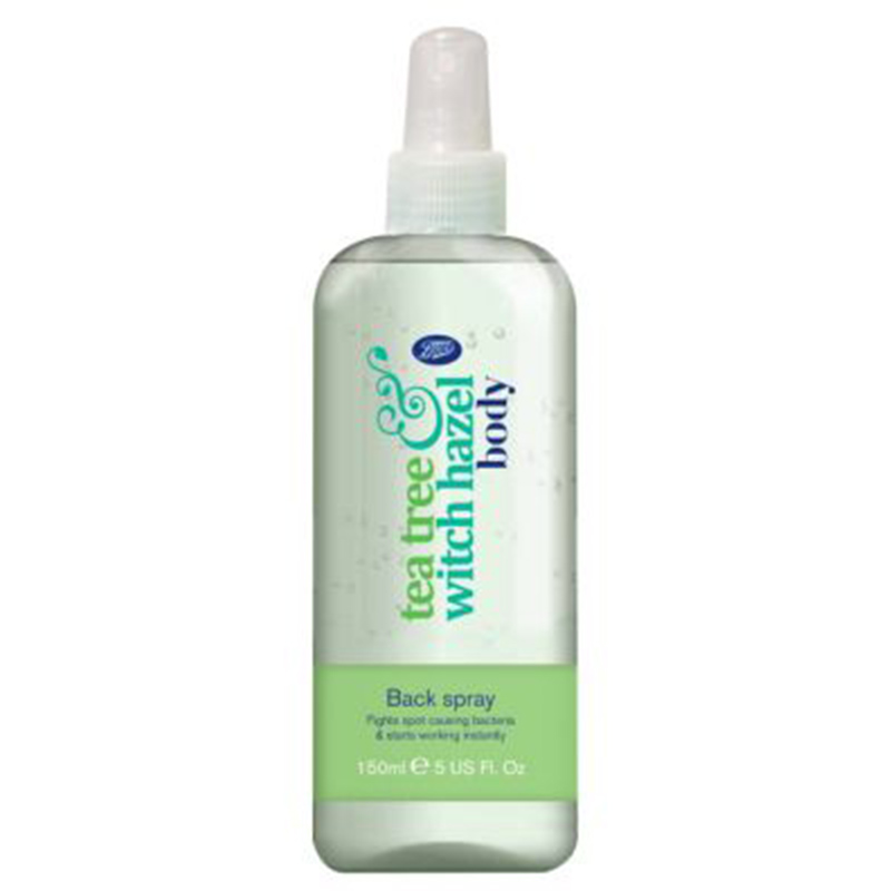 Boots Tea Tree Witch Hazel Back Spray