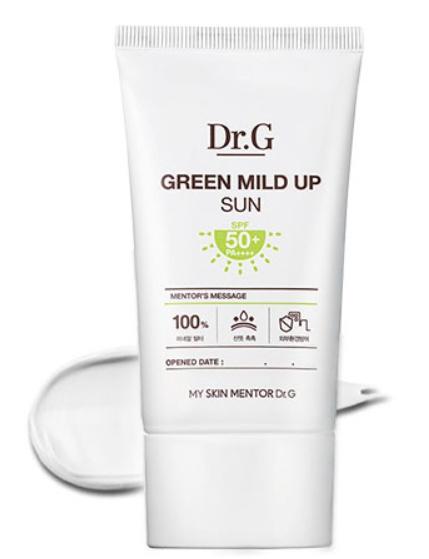 Dr. G Green Mild Up Sun Plus Lsf50+ Pa++++