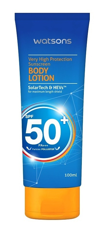 Watsons Very High Protection SunScreen Body Lotion SPF 50+