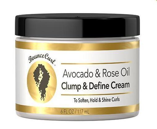 BounceCurl Avocado & Rose Oil Clump And Define Cream