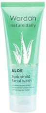 Wardah Nature Daily Aloe Hydramild Facial Wash