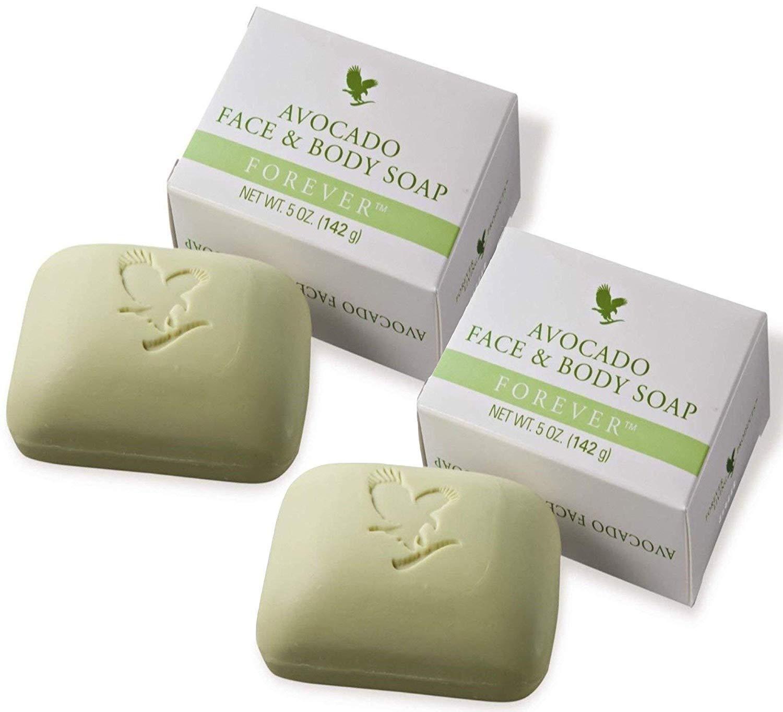 Forever Aloe And Avocado Face And Body Bar Soap