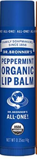 Dr Bronner Organic Lip Balm - Peppermint