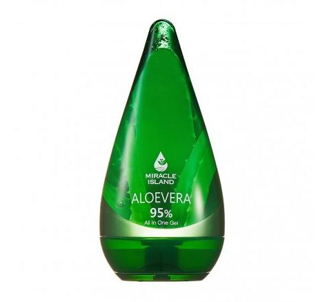 MIRACLE ISLAND Aloe Vera 95% All In One Gel