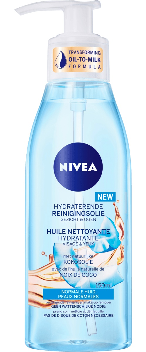 Nivea Hydrating Cleansing Oil With Natural Coconut Oil