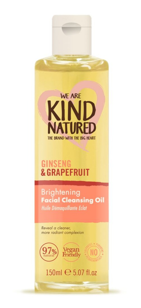 Kind Natured Ginseng And Grapefruit Facial Cleansing Oil