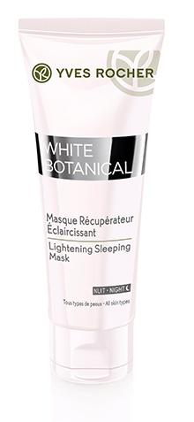 Yves Rocher White Botanical Sleeping Mask