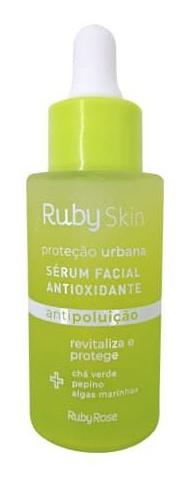 Ruby Rose Sérum Facial Antioxidante Proteção Urbana Ruby Skin