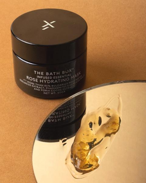 the bath box Rose Hydrating Mask