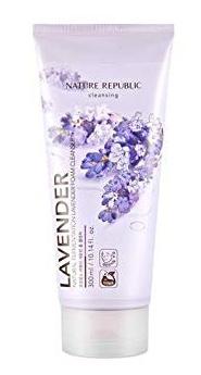 Nature Republic Lavender Real Nature Foam Cleanser