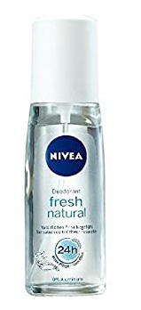 Nivea Fresh Natural Pump Spray 24h Deodorant
