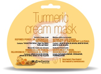 in.gredients Turmeric Cream Mask