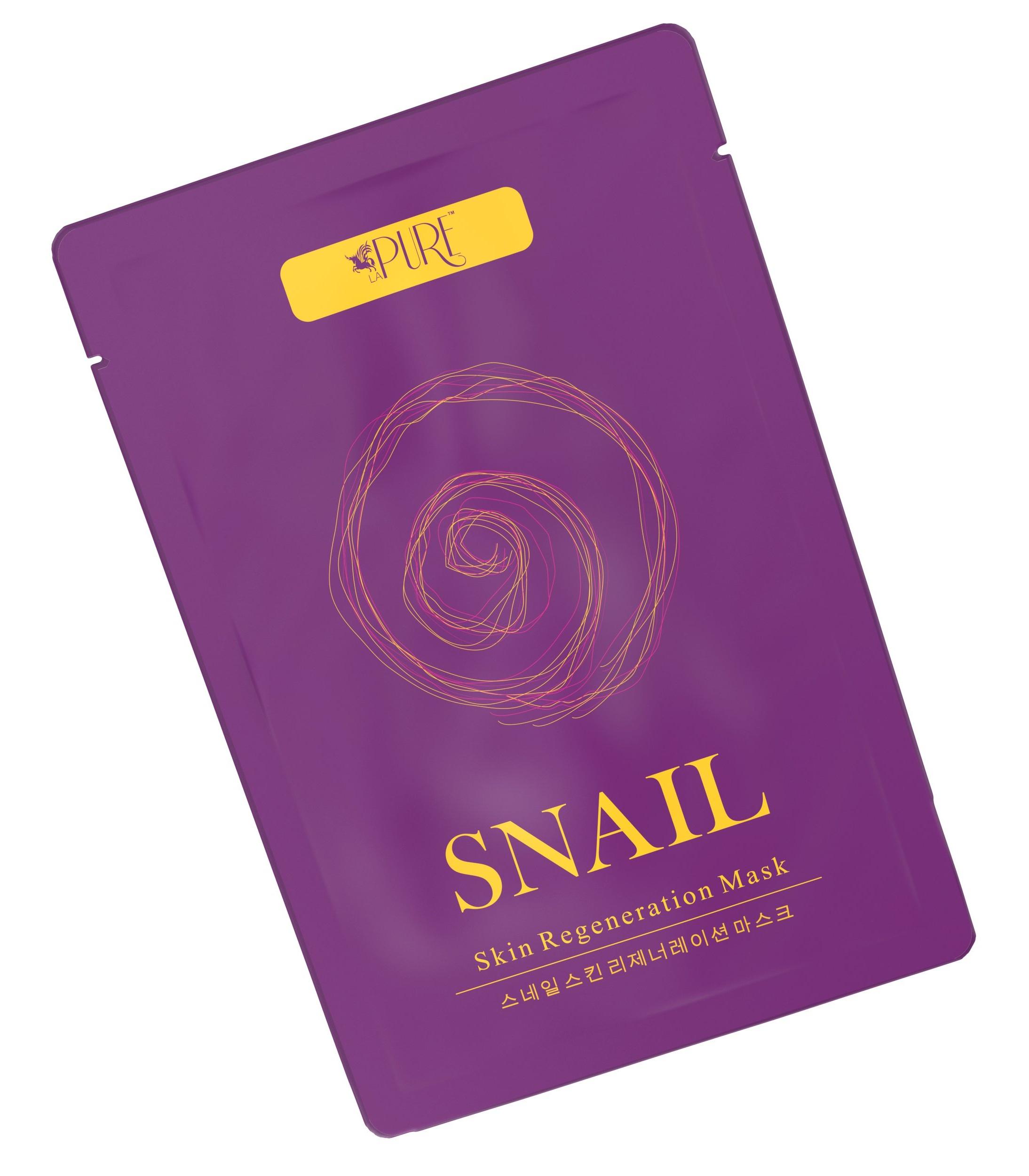 La Pure Snail Skin Regeneration Sheet Mask