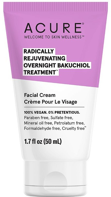 Acure Radically Rejuvenating Bakuchiol Overnight Treatment