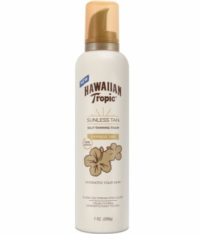 Hawaiian Tropic Sunless Tan One Hour Express Foam